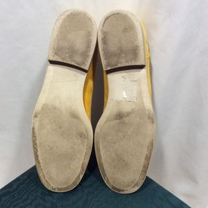 Bally Shoes - Yellow Suede Bally Loafers